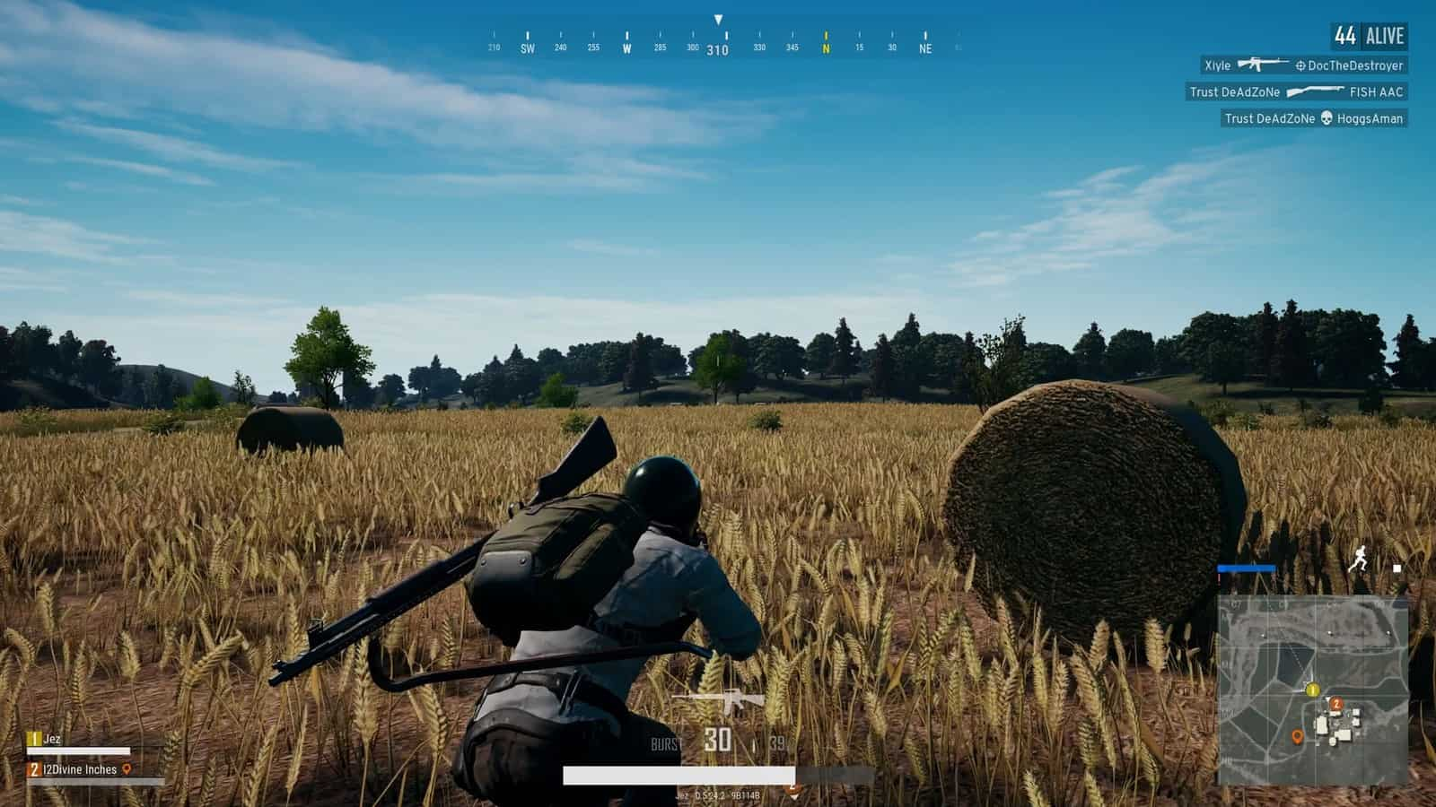 PUBG tends to have a lot of nothing that happens.